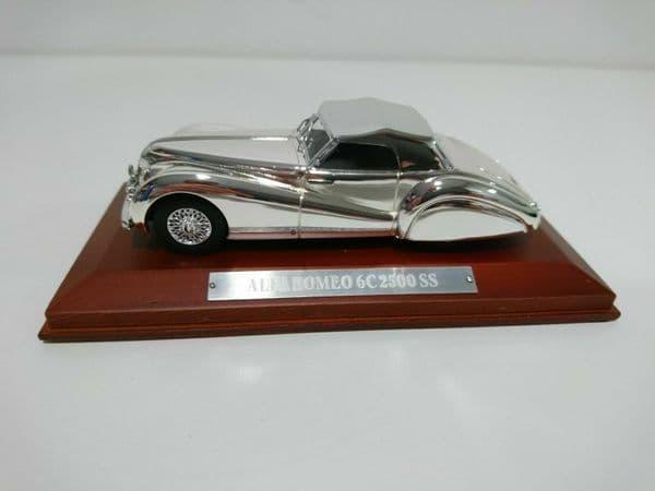 Auto Da Leggenda - Silver Chrome Cars Collection Alfa Romeo 6C 2500 SS